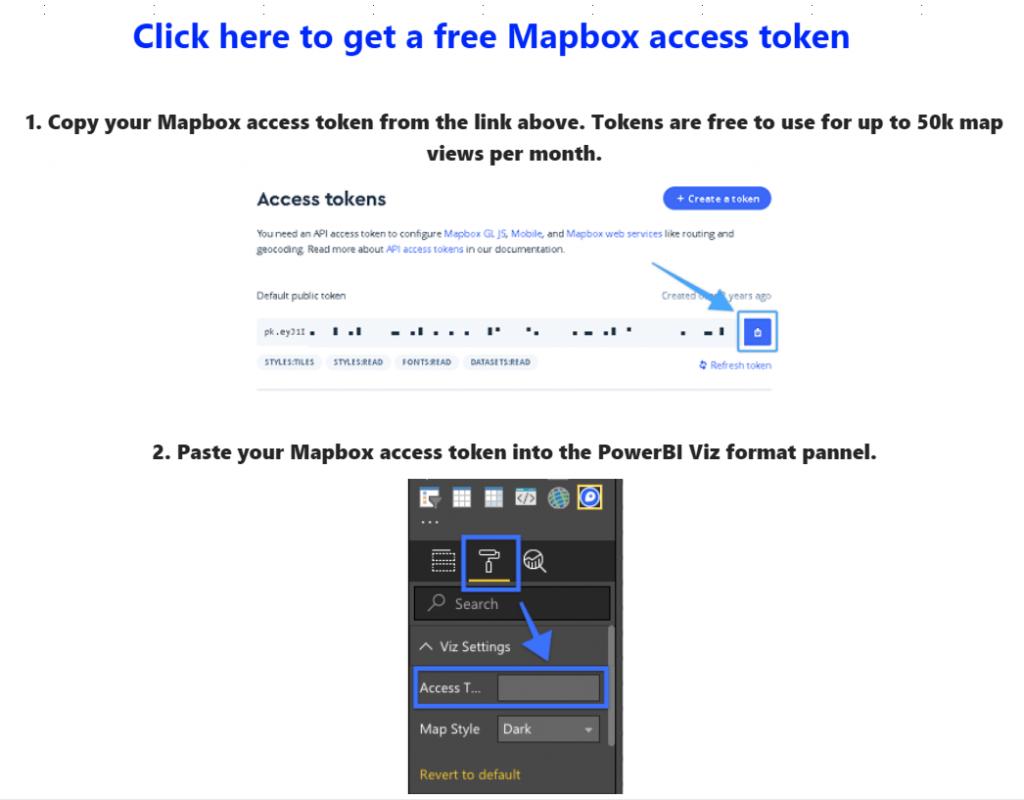 mapbox Tableau Power BI