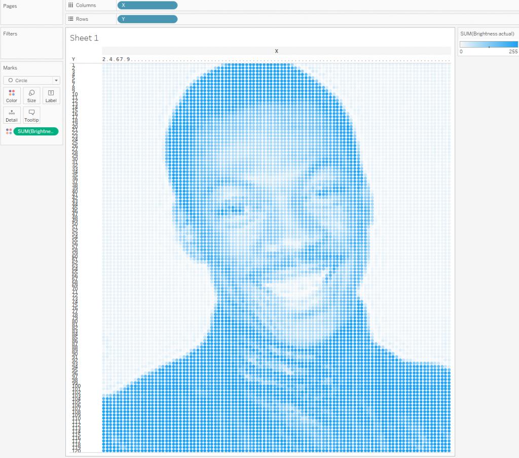 Пиксельный портрет